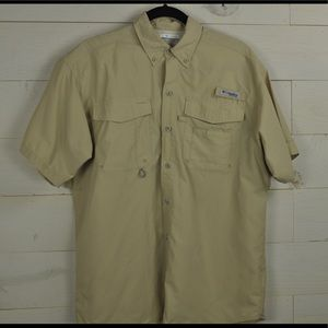 Columbia short sleeve outdoor casual shirt